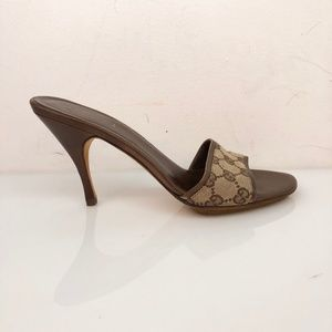 Gucci Monogram Mule Sandals